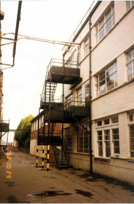 Dowty Rotol Front Office Refurbishment c.1990 - East Block Ext 17 | John Herring