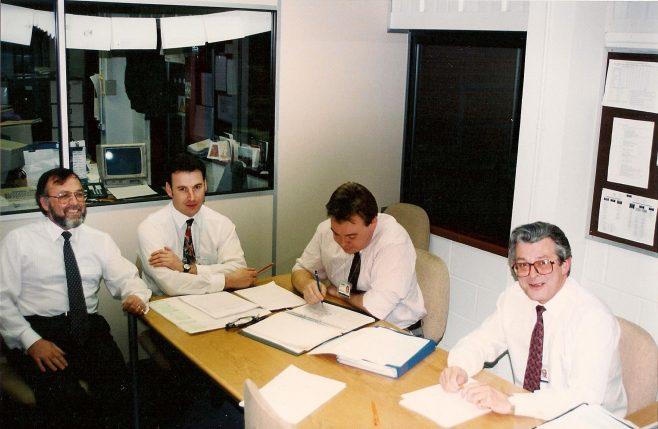 DFS Planning Dept taken in the last few months prior to closure at Arle Court | John Ganderton