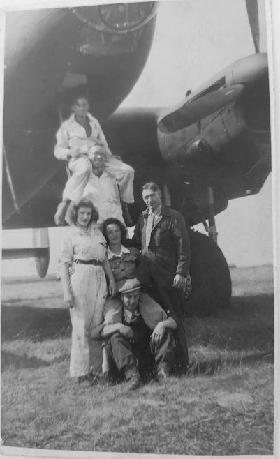 Aston Down Aerodrome 1945   Jean Lee