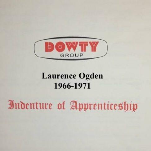 Laurence Ogden - Apprentice Completion 1971