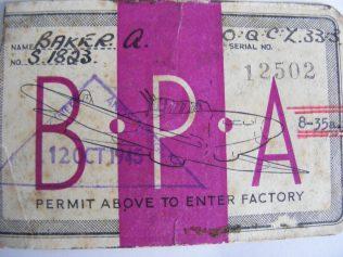 BPA Permit To Enter Works | Les Whitehouse