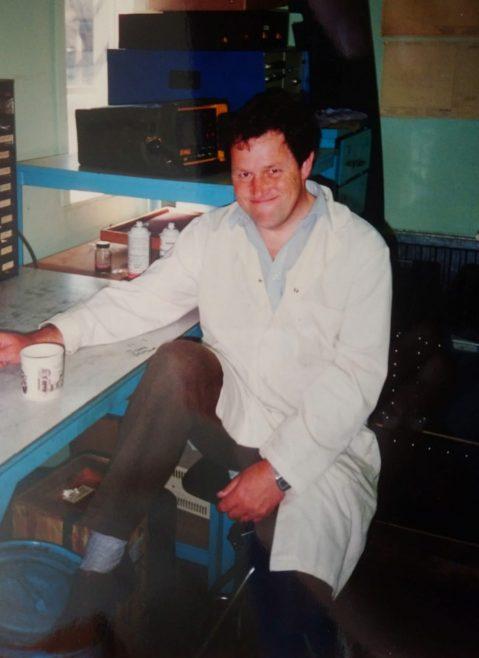 Ken Farnol NDT dept 1988 | Andy Bond-Thorley