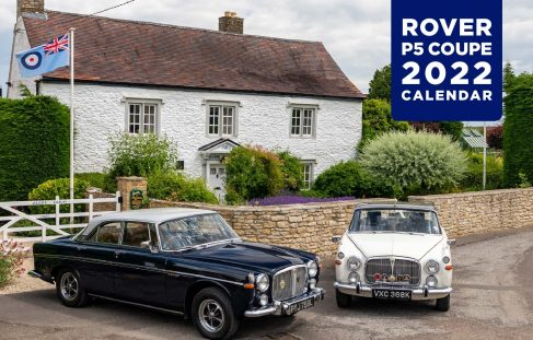 Rover P5B 2022 Calendar