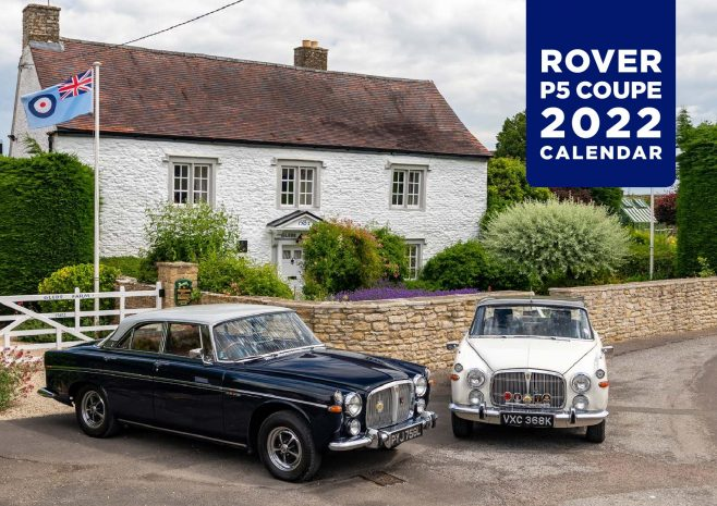 Rover P5B's, the white has a  Dowty Motor Club badge | Martin Robins