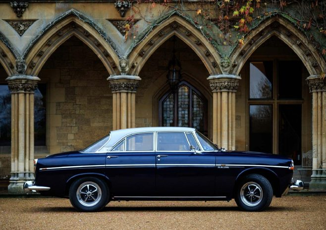 Rover P5B outside Arle Court House | Martin Robins