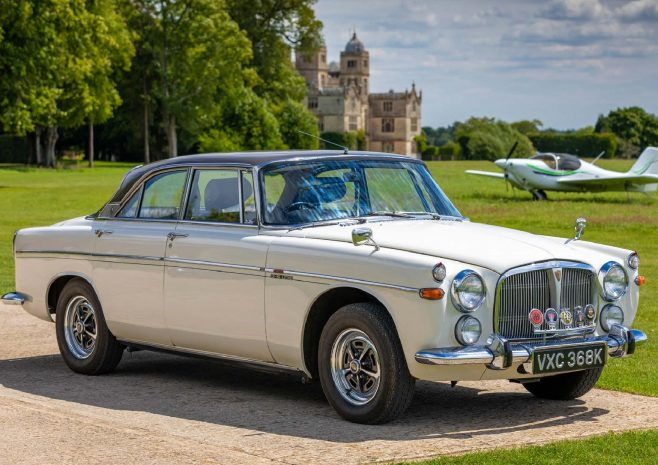 Rover P5B with Dowty Motor Club badge | Martin Robins